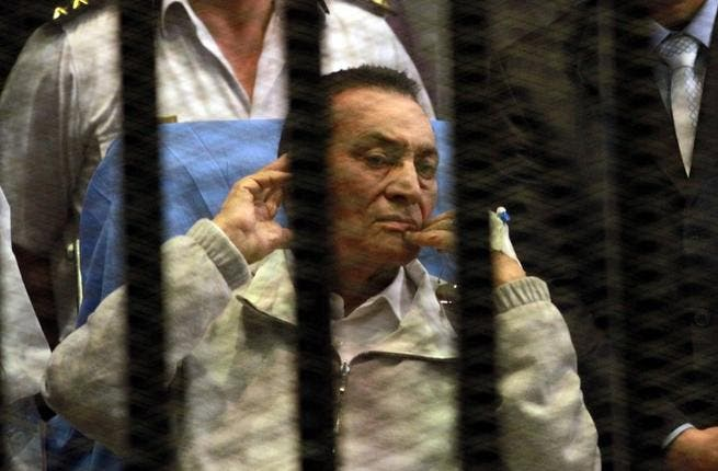 Egypt's forgotten man, the former President Hosni Mubarak has been cleared of charges related to ordering the killing of unarmed protestors, but remains behind bars over fraud charges.