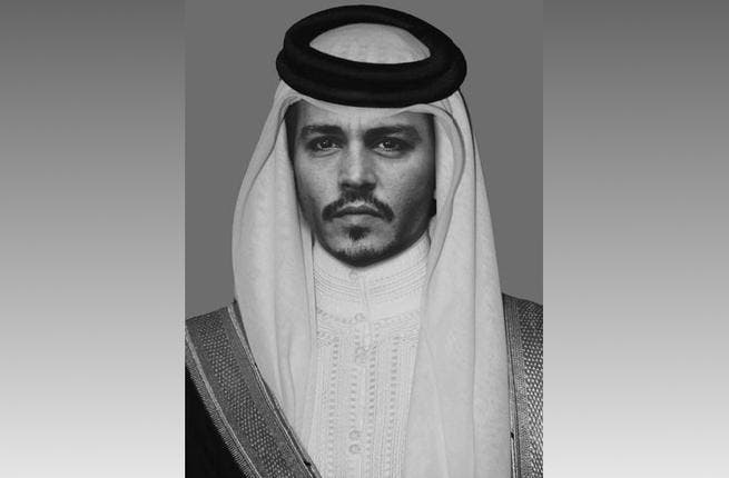 Johnny Depp: The Pirates of the Caribbean star in a shemagh? Well we don't see the connection but this Hollywood outsider still looks cool in a keffiyeh.