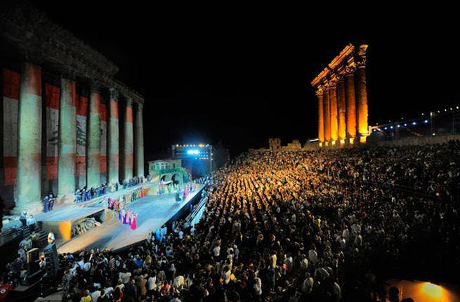 Baalbeck goes Beiruti: Despite calls to cancel for neighbor-in-war, Syria, the Baalbeck festival held its Lebanese spirit -- the talent show did go on. Some of August's 2013 acts though were relocated from the traditional Roman amphitheater to metropolis Beirut where grand pianist Eliane Elias brought some Brazilian 'festival' to the city-stage.