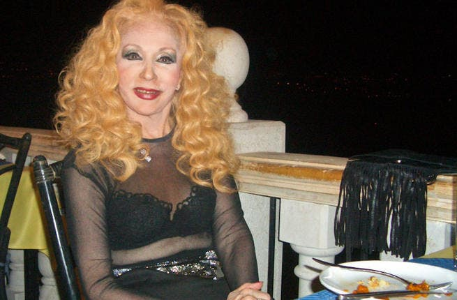 Lebanese superstar Sabah might be well into her 80's but it seems the girl's still got it. Reportedly married a good 9 times, Sabah hasn't let a little thing like age get in the way of her pursuit to find her dream man. Last year word had it that the sexy granny had married yet another toy-boy.