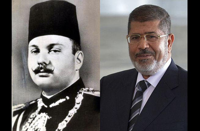 Military spares neither King nor President:  In 1952, the British installed King Farouk was given the coup treatment, ejected during a military campaign, led by Gamal Abdul Nasser and the Free Officers Movement.  In  2013, Mohamed Morsi, the first elected president in Egypt's history was ousted by the army following mass protests against him.