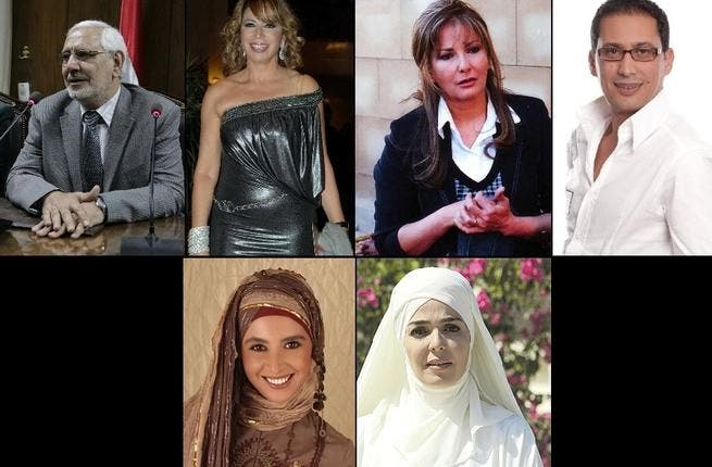 Aboul Fotouh's celeb camp: The moderate Islamist's (regarded in Islamist terms as a soft touch) fans include controversial, racy director Inas El Deghedy -