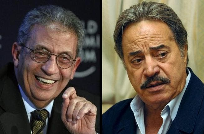 Amr Moussa for President: The diplomat and former FM, also former Arab League Secretary General, has classic big-name Youssef Shaaban on his side. The old-school actor stated that he has sustained a 15-year relationship with Moussa and has utmost faith that he will lead Egypt well into its next crucial phase.