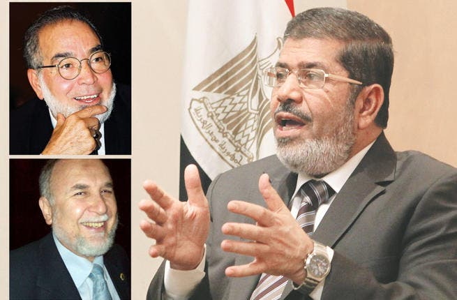 Dr. Mohamed Mursi - the Muslim Brotherhood's official candidate - has the celebrity heavy-weight endorsement of Hassan Youssef. From uber-famous actor to conservative Sheikh, this old-guard artist commends Mursi's