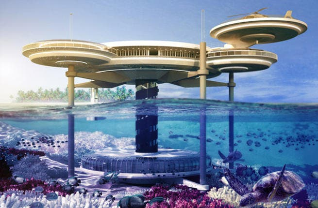 "Construction work on a high-profile underwater hotel project in Dubai is to begin ""very shortly"" and the eye-catching structure could be the first of many as its backers look to take part in the building of 'coastal dream cities' around the world. (Photo / Drydocks World)"