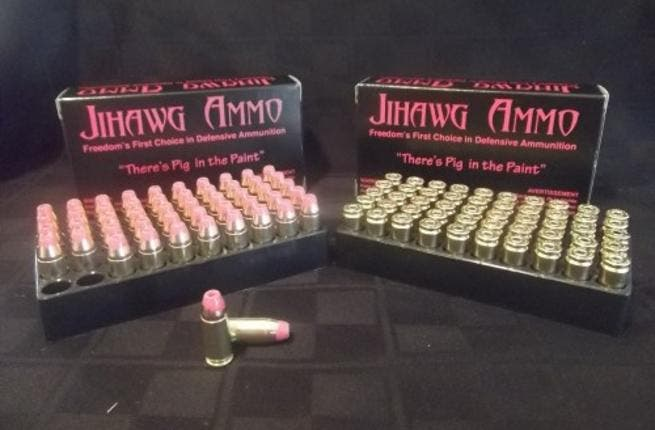 An American company based in Idaho is manufacturing and selling bullets coated in pork. Each product is