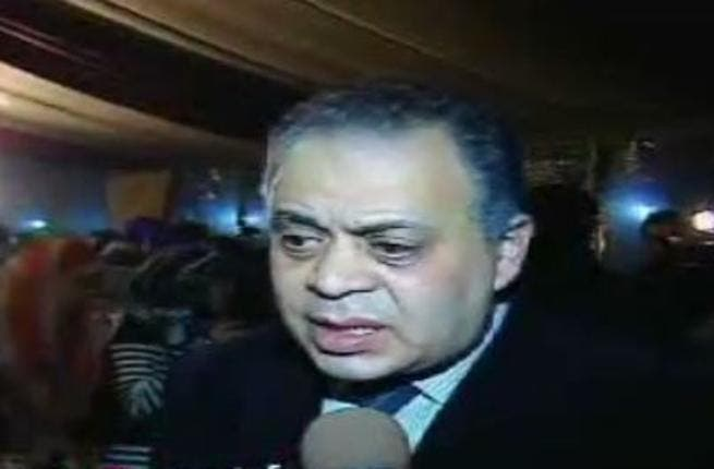Ashraf Zaki: Led the demonstrations of Mubarak support as the Head  of the Guild of  Actors.
