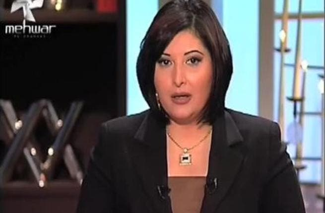 Hana Simari: In her TV program on the 'Mehwar' channel she hosted some protesters who claimed for an entire episode that they had received training from the Israeli soldiers and the United States in order to demonstrate against their leader.