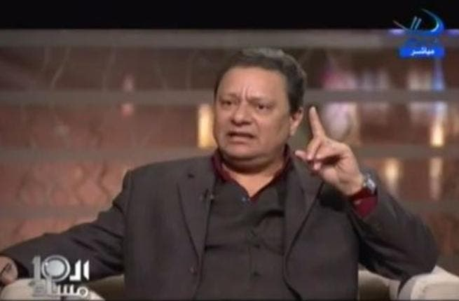 Karam Gabr: Supporter of the Mubarak regime and fiercely against violations of the rules. He always writes in Rose El Youssef and debates in the media speaking out against demands for change and against the rebels.