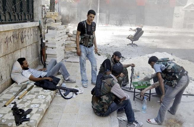The FSA is not sectarian - birds can join the revolution too!