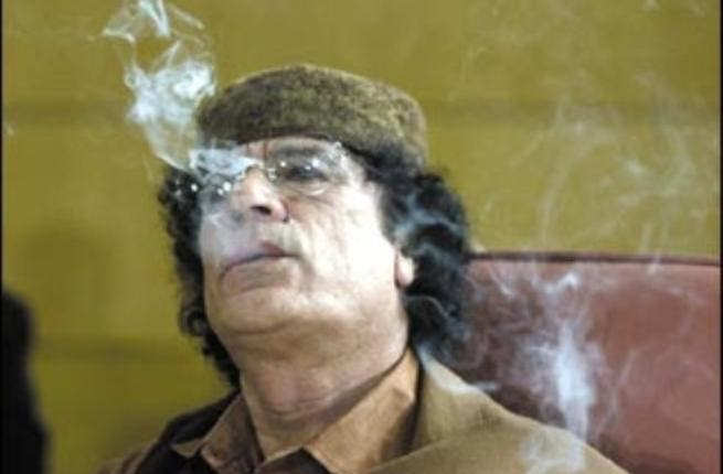 We know we all smoke in the Middle East but we expect a dignitary and leader in the public eye to do so more discreetly