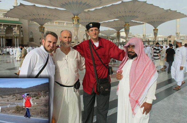 "Hiking the Hajj: Bosnian Senad Hadzic captured the hearts of believers & nonbelievers across the globe this Hajj, after walking to Mecca. It was a tale of rags to spiritual riches when this pious man trekked a 6,000 km to his pilgrimage, helped along by fellow Muslims. He walked war-torn Syria, but was never afraid as, ""God [was] is with me."""