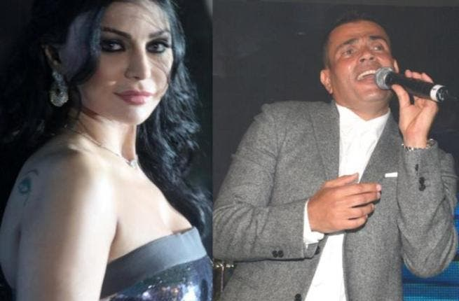 Questions over her support of the Egyptian fans arose during the heated month of January 2011, as Amr Diab was no longer welcome in the country.