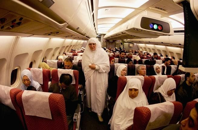Speedy Hajj: arriving at the destination by air can save time and avoid the land rush. Many airlines operate extra trips to Saudi with some package deals included. Plus if you skip Medina - not a compulsory leg - you save 3 or 4 days to spend marveling at those Mecca hotspots.