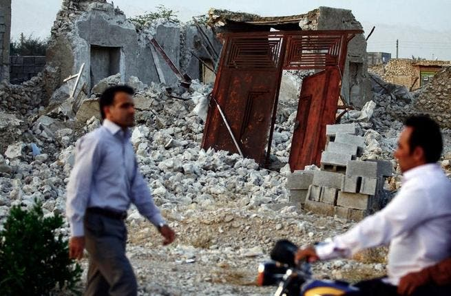 Just one week after an earthquake hit Iran killing 37, lightning struck twice. Tuesday's tremors initially saw Iran's death toll at 40, but later estimates were lower. A state of emergency was declared in Saravan; rescue workers were deployed to assess the damage. Seismologists rate it one of the strongest quakes in the country's history.