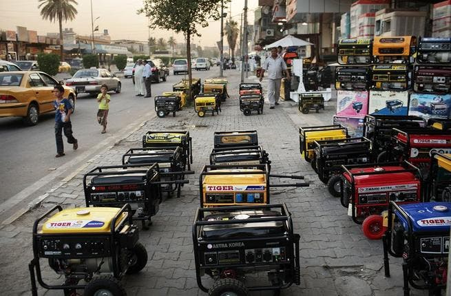 Iraq has been compared to Lebanon in more ways than one. From turning into a blood-bath for proxy wars and score-settling, to living 9 years of power shortage. Power cuts & blackouts have become common place in Baghdad (as well as nationwide though notably better in the north of the country) as in Beirut, where generators have long been the norm.