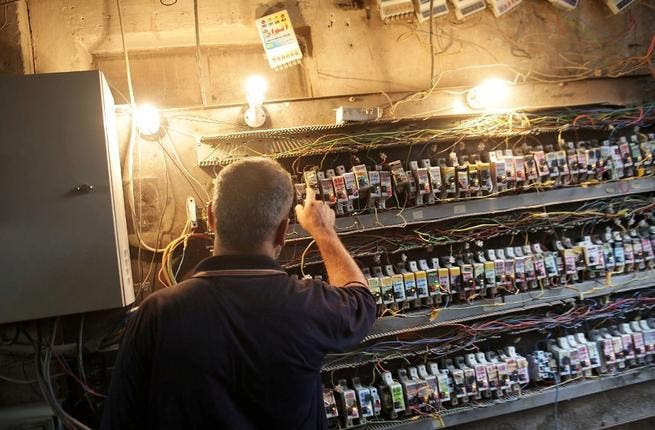 In the absence of reliable government electricity supplies, citizens take things into their own hands, adopting rogue tactics to acquire power. Those who can afford it, operate switch-boards for the community out of their own house. After a decade plus of sanctions followed by a decade of occupation, Iraq's infrastructure is still in ruins.