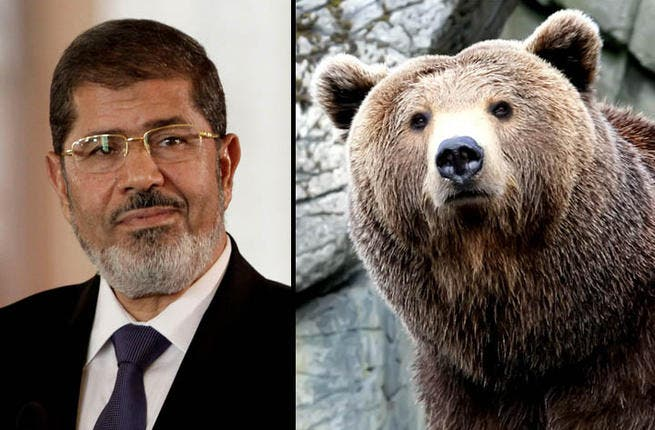 Morsi -  Ol' Winnie the Pooh was a serene, simple bear who saw life through a basic lens. Egyptian president  Mohammed Morsi has come across during his first term as innocent, nestled in his tree oblivious to the world crashing down around him.