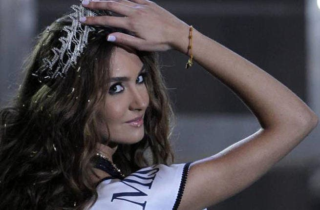 Former Queen and Defending Champion: Rina Chibany, Miss Lebanon 2012, passed on her crown to fresh-faced Karen this year.