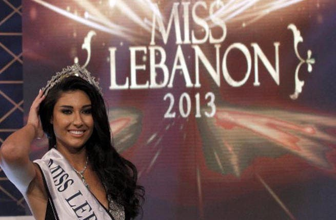 Drum roll: And the winner is... Karen Ghrawi. The stunning 22-year-old was crowned Miss Lebanon 2013 on September 1, 2013.