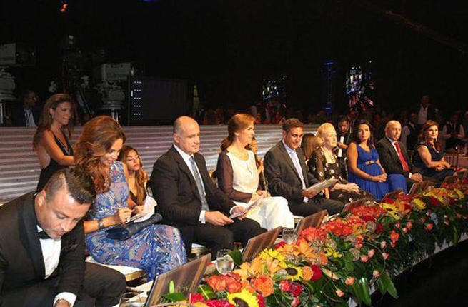 The chop: The judging panel of nine beauty experts, including international fashion designer Zuhair Murad.