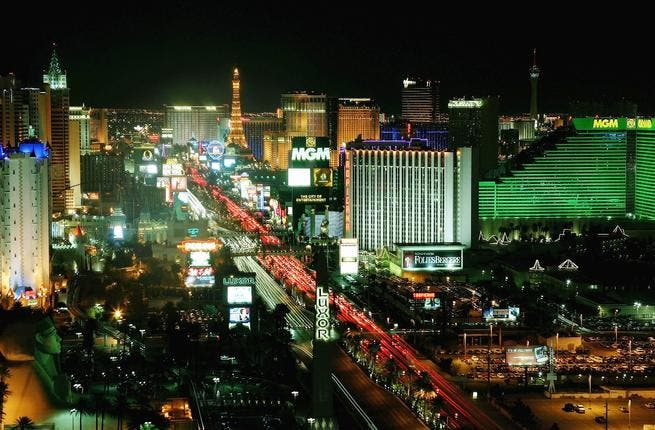 Las Vegas is often called a 'Mecca' for money. Now Mecca is, in scorn, labelled, the