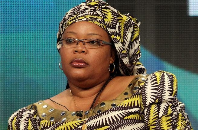 Leymah Gbowee - Liberian tripartite Peace Prize recipient - formed the