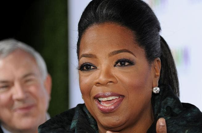 Oprah's final parting shot:
