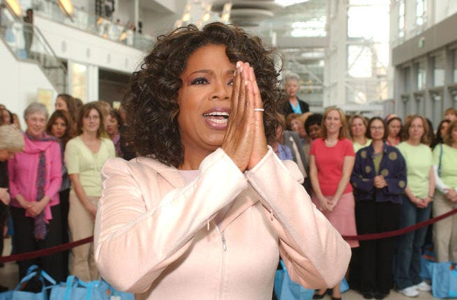 Oprah in her Show Finale ended on her usual spiritual note,
