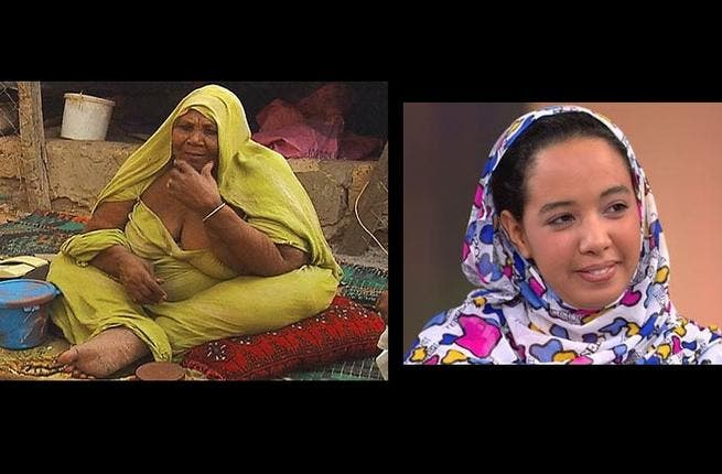 Mauritanian Houda (R) on big beauty: cultural revelation for Arabs as U.S.