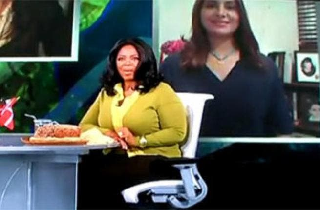 Dr. Lamees Hamdan: This Skype (at the time barred in the UAE) interview led critical fans to suggest Oprah