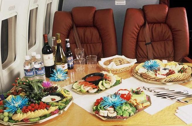 If the thought of a month of intensive family time is getting you down, why not follow in the classic pre-Ramadan footsteps of our favorite Gulfies and travel abroad for a week of luxury? Many like to splash the cash overseas and London is the prime destination. Do it in style, in an oil-funded private jet. (courtesy of Jet Charters)