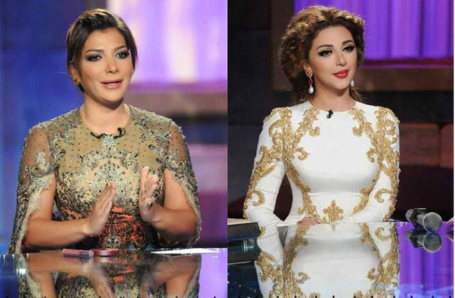 Sweet as Honey: Singing on a high note are stars Asala Nasri and Myriam Fares, who earned a cool $65,000 (Asala) and $55,000 (Myriam) for appearing on Nishan's