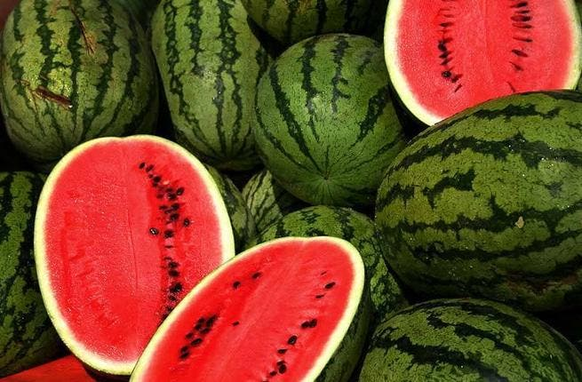 It's not hard to see why a fruit that incorporates 'water' into its name would also be a sensible option for those Ramadan summer evenings. Watermelons are rich in water and together with other summer seasonal fruits like fluid-filled grapes and plums should be indulged in to keep dehydration at bay.