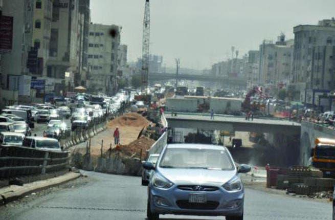 If cars could fly... Saudi Arabia feels the Ramadan heat at Iftar-time (Arab news /facebook/ Fouzia khan)