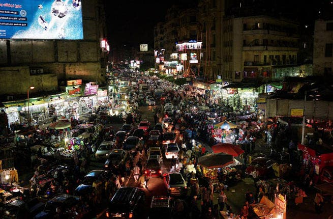 Cairo craves a date with Iftar: Egypt is heaving for Ramadan and you'll be hard pressed to find a Cairene who has not found himself stranded in chocker-block city traffic this holy month. (Photo by Spencer Platt/Getty Images)