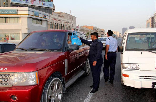 Qatar's got it all under control: For the Qataris Ramadan is no exception. The Ministry of Interior is distributing more than 20,000 Iftar packs that contain water and dates for motorists at Iftar time to prevent the perils of speeding.