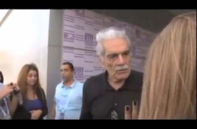 Slap in the face: Hitting women is never OK, and Omar El Sherif should have known better when he lost his temper at the Qatar Film Festival and struck a young woman who wanted her picture taken with him. No one loves a woman-beater, Omar. Fans were shocked and this is one scandal his reputation may not recover from.