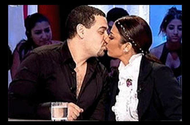 The Arab French Kiss! Asala's faux-French kissing scandal saw the Syrian soprano get serious heat for smooching her *shock horror* husband in front of a studio audience. With no tongue in sight and wed-locked, you'd never think Asala's paltry peck would leave fans scathing. She should give them something to really wag their tongues about.