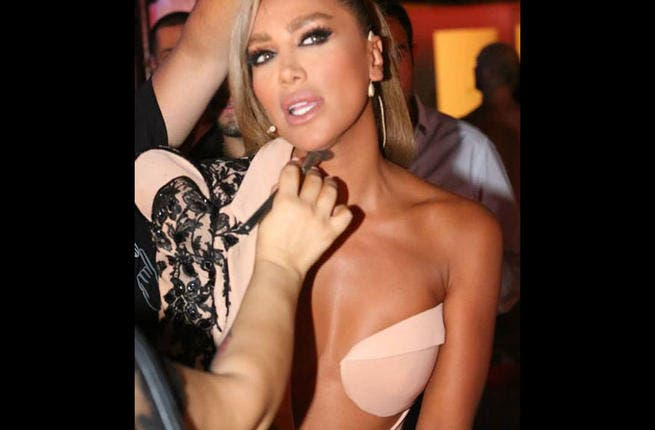 Forbidden sex: What scandal hasn't Maya Diab had a part in? If her fashion faux-pas weren't enough, she had to blab that her and her husband were getting up to no good in the bedroom...before marriage! From the outrage it caused in fans, it seems Maya should keep her unfitting bedroom sexcapades safely under her fitted sheets!