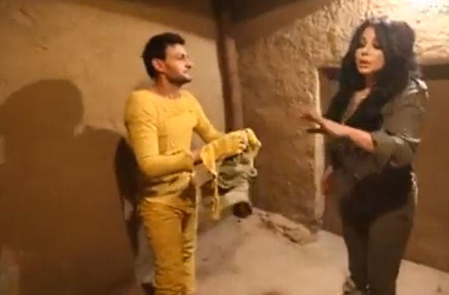You've been punk'd: Haifa Wehbe showed she can swear like a sailor after being pranked on Ramez Ankh Amon's show last month. Her filthy language almost got her episode binned and she shocked fans who are used to Haifa acting the lady. If she wants to keep the ratings, Wehbe needs to wash her mouth out with soap!