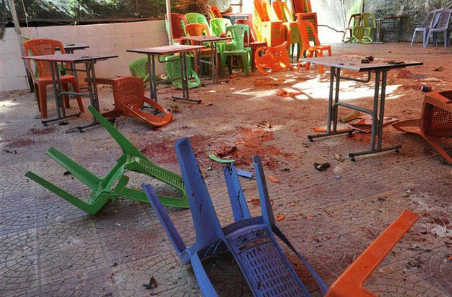 Mortar fire hit an outdoor cafe at Damascus University in March, killing 15 students. Observers said the attack came as forces increased the use of mortars in the city. The government blamed 'terrorist' rebels for the strike while anti-Assad activists accused the regime of staging the attack to turn civilians against the rebels.