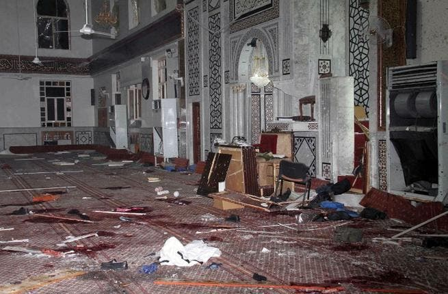 A bomb attack on a mosque in March killed one of the few pro-government Sunni clerics, Mohammed al Buti. Both sides condemned the attack which authorities said killed 40 people. A video posted online last week, however, raises questions over the bombing, which shows the cleric alive after the blast. Moments later Al Buti is dead.