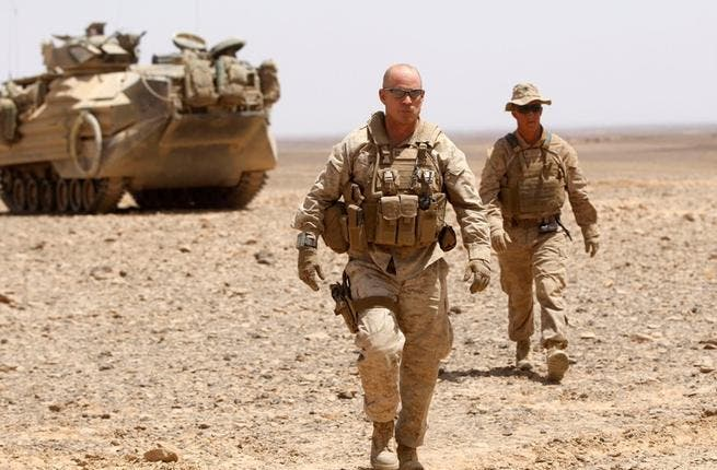 Jordan's military get mobilised: The