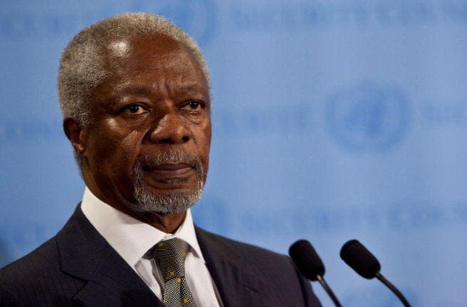 Former U.N. Secretary General Kofi Annan became envoy to Syria in February last year, and announced a 6-point plan to end the violence. A ceasefire under his watch took effect in mid-April, but sporadic fighting continued.
