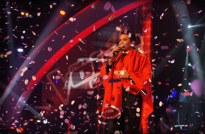 And the winner is…After weeks of fighting off tough competition and wowing viewers with ballsy performances and a winning smile, Moroccan contestant, Murad Buriqi, reigned triumphant. As he celebrates his success, the newly crowned winner of The Voice looks forward to a life in the Arabian limelight.