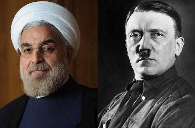 Oh no he didn't go there! Bibi has committed some serious Nazi no-nos in during his time in office by drawing 1940s references and comparisons. He likened the ongoing diplomacy with Iran's Hassan Rouhani as being on a par with Europe's appeasement of Hitler in 1938. Say what, Bibi?