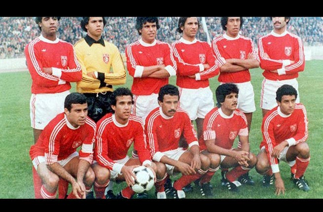 Argentina 1978: With their short pass game, the Tunisian team is remembered for its flair. The Eagles were the first team to be managed by an African. They stunned Mexico 3-1 before losing narrowly to a strong Polish team and drawing with West Germany. The team created a new record - for the number Mashallahs elicited from the audience!