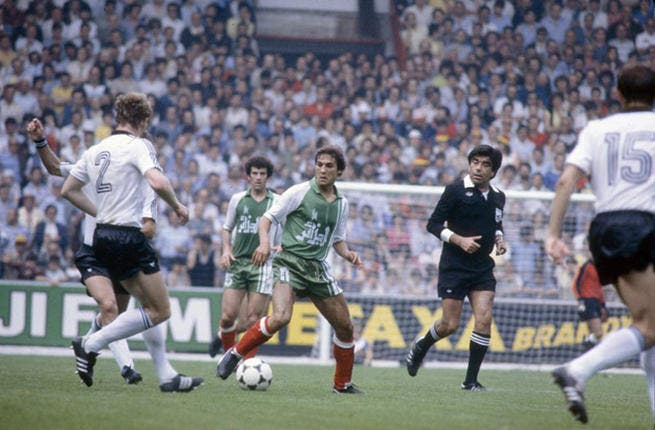"""Spain 1982: Germany mocked Algeria before the cup saying they would """"dedicate the seventh goal to their wives and the eighth to their dogs."""" Algeria defeated the Germans and barking ceased. They beat Chile 3-2 and were favored to progress. Alas, they were knocked out due to a shameful display of match fixing between Germany and Austria."""