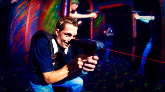 grand west casino laser tag
